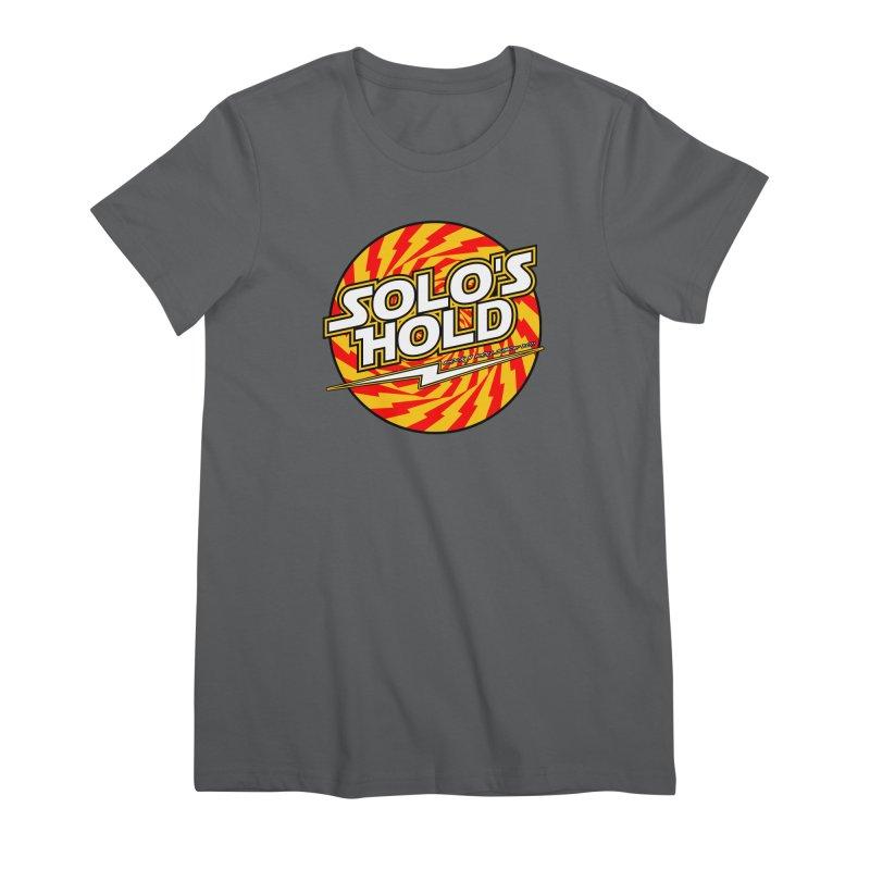 Rock N' Roll Women's Premium T-Shirt by SolosHold's Artist Shop