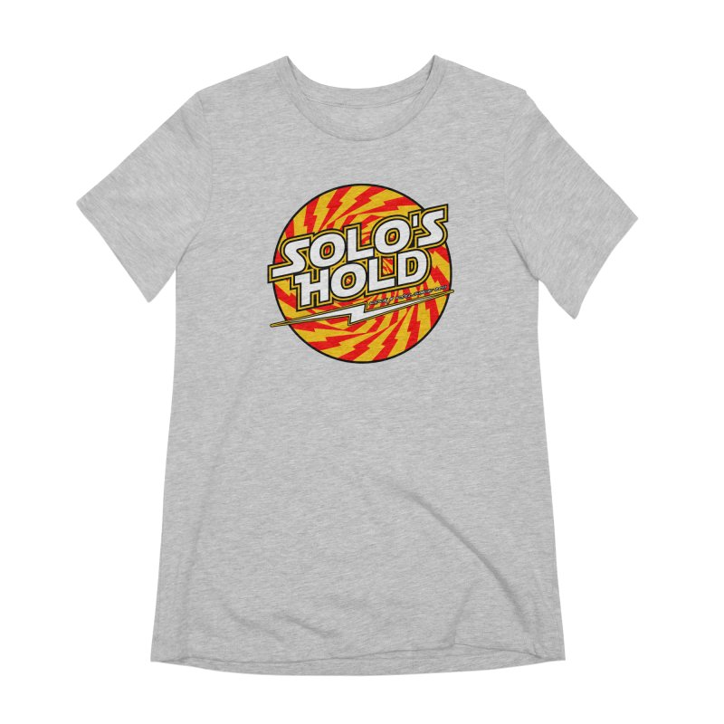 Rock N' Roll Women's Extra Soft T-Shirt by SolosHold's Artist Shop