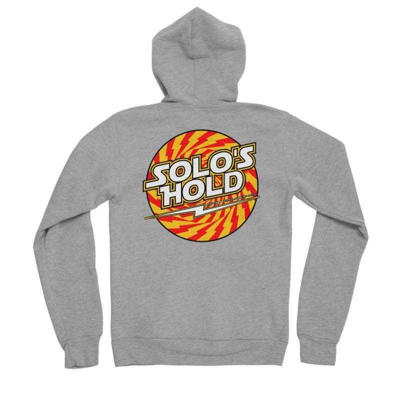Rock N' Roll Men's Sponge Fleece Zip-Up Hoody by SolosHold's Artist Shop