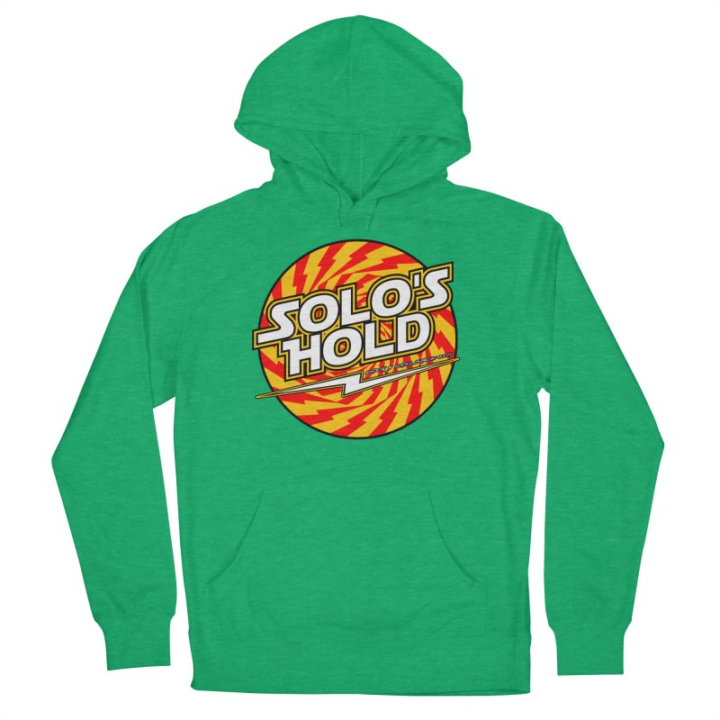Rock N' Roll Men's French Terry Pullover Hoody by SolosHold's Artist Shop