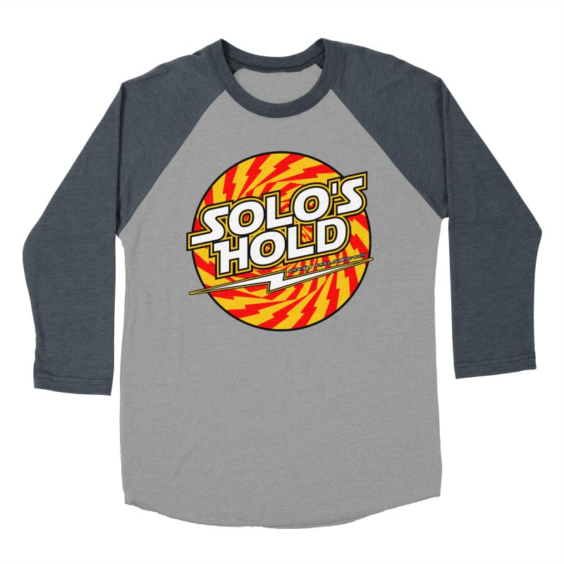 Rock N' Roll Men's Baseball Triblend Longsleeve T-Shirt by SolosHold's Artist Shop