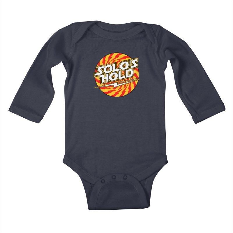 Rock N' Roll Kids Baby Longsleeve Bodysuit by SolosHold's Artist Shop
