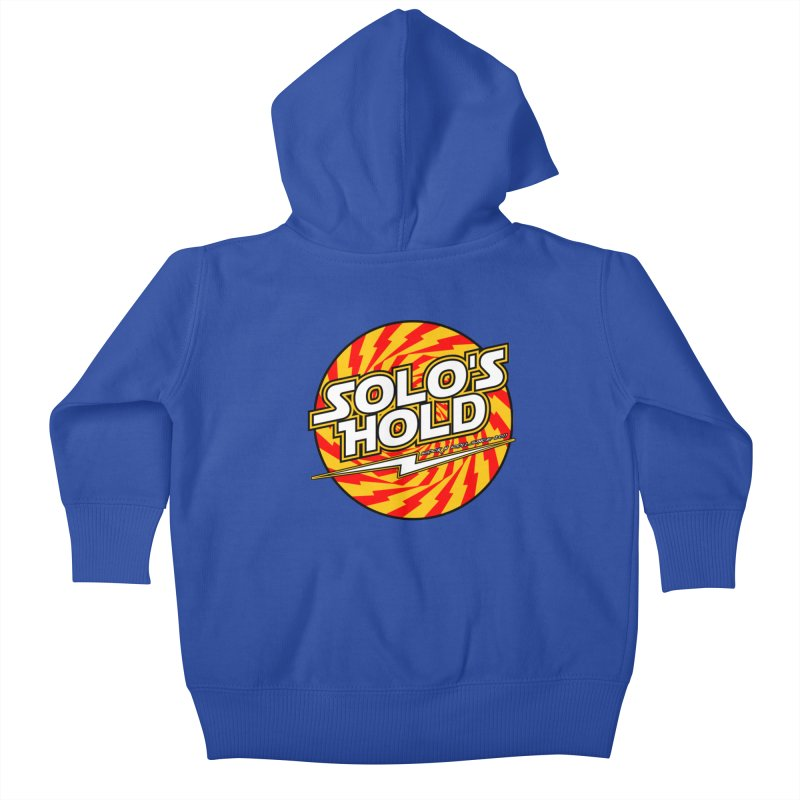 Rock N' Roll Kids Baby Zip-Up Hoody by SolosHold's Artist Shop