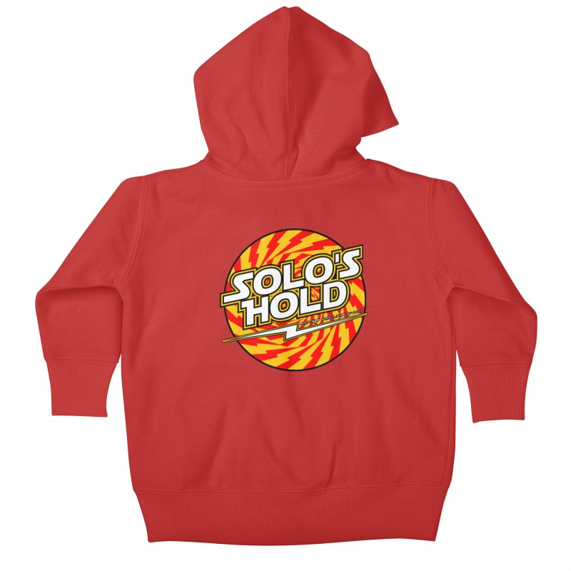 Rock N' Roll Kids Baby Zip-Up Hoody by SolosHold's Artist Shop