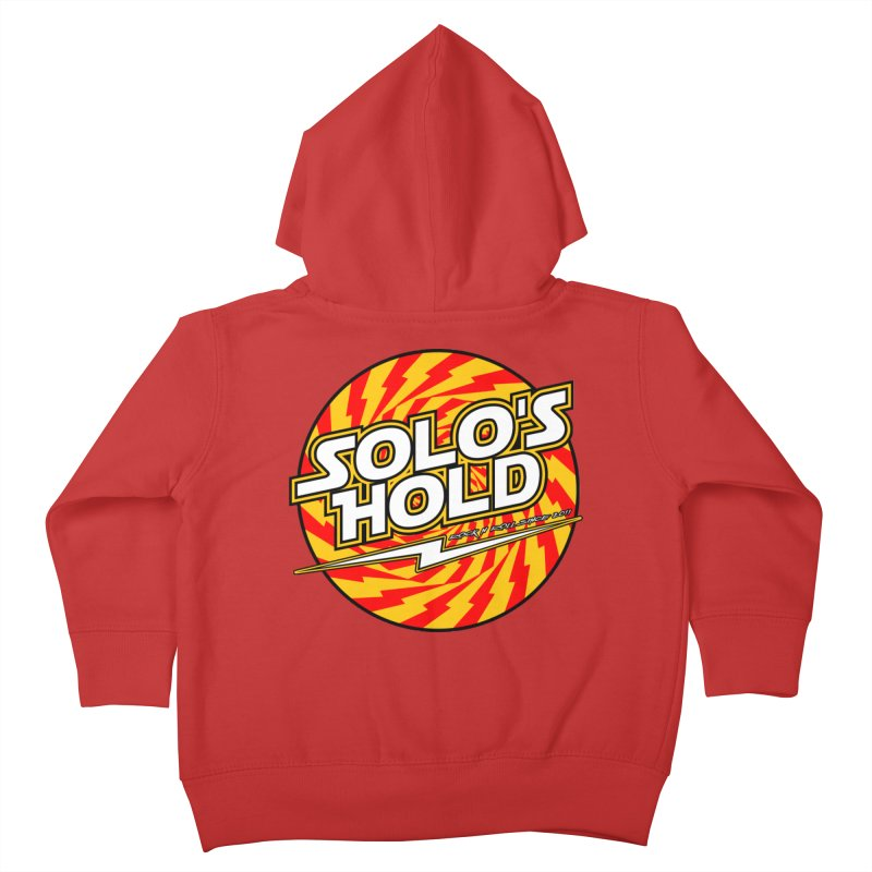 Rock N' Roll Kids Toddler Zip-Up Hoody by SolosHold's Artist Shop