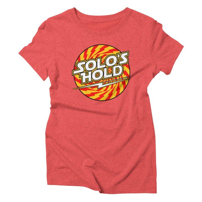 Rock N' Roll Women's Triblend T-Shirt by SolosHold's Artist Shop