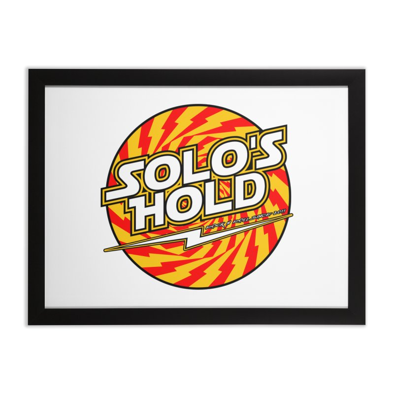 Rock N' Roll Home Framed Fine Art Print by SolosHold's Artist Shop