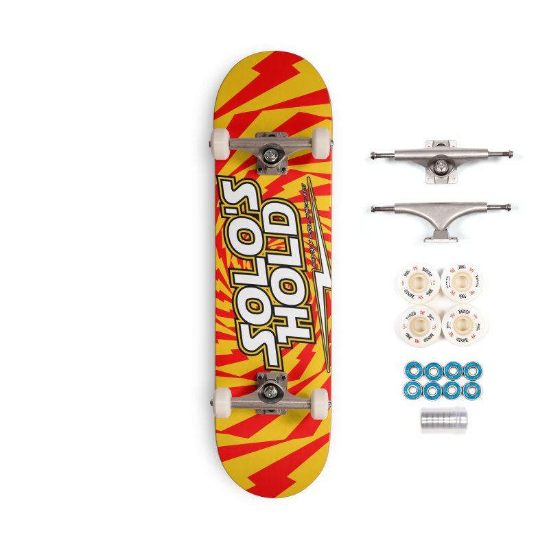 Solo's Hold Rn'R custom deck. Accessories Complete - Premium Skateboard by SolosHold's Artist Shop