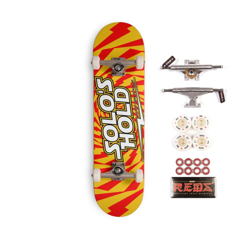 Solo's Hold Rn'R custom deck. Accessories Complete - Pro Skateboard by SolosHold's Artist Shop