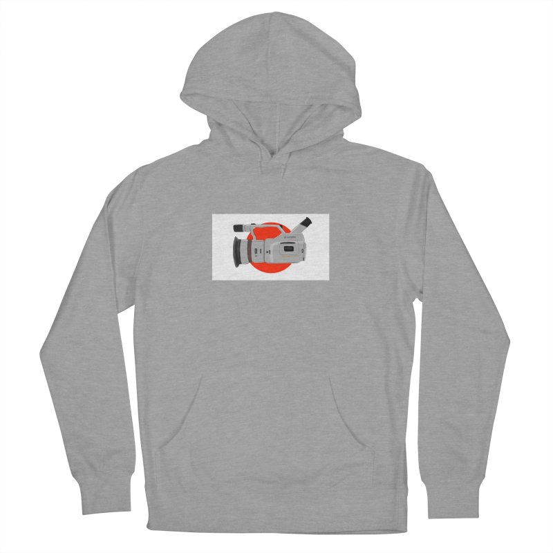 Japanese Flag Hand Drawn  vx1000 in Men's French Terry Pullover Hoody Heather Graphite by Sonyvx1000's Artist Shop