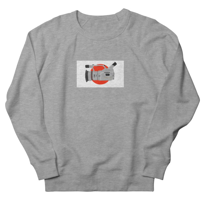 Japanese Flag Hand Drawn  vx1000 in Men's French Terry Sweatshirt Heather Graphite by Sonyvx1000's Artist Shop