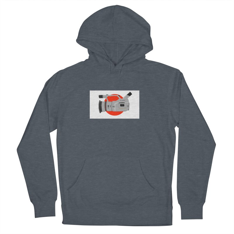 Japanese Flag Hand Drawn  vx1000 Men's Pullover Hoody by Sonyvx1000's Artist Shop