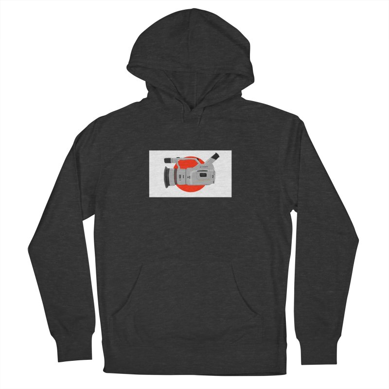 Japanese Flag Hand Drawn  vx1000 Men's French Terry Pullover Hoody by Sonyvx1000's Artist Shop