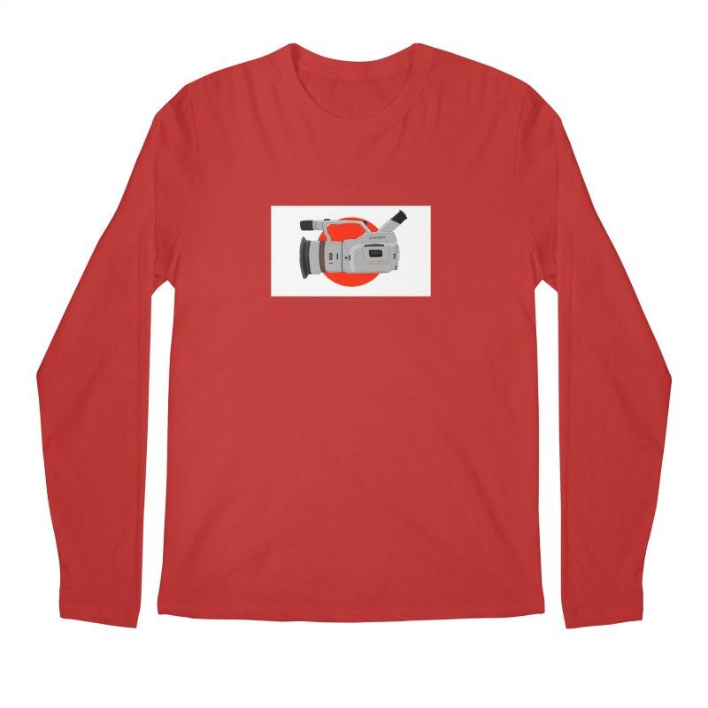 Japanese Flag Hand Drawn  vx1000 Men's Longsleeve T-Shirt by Sonyvx1000's Artist Shop