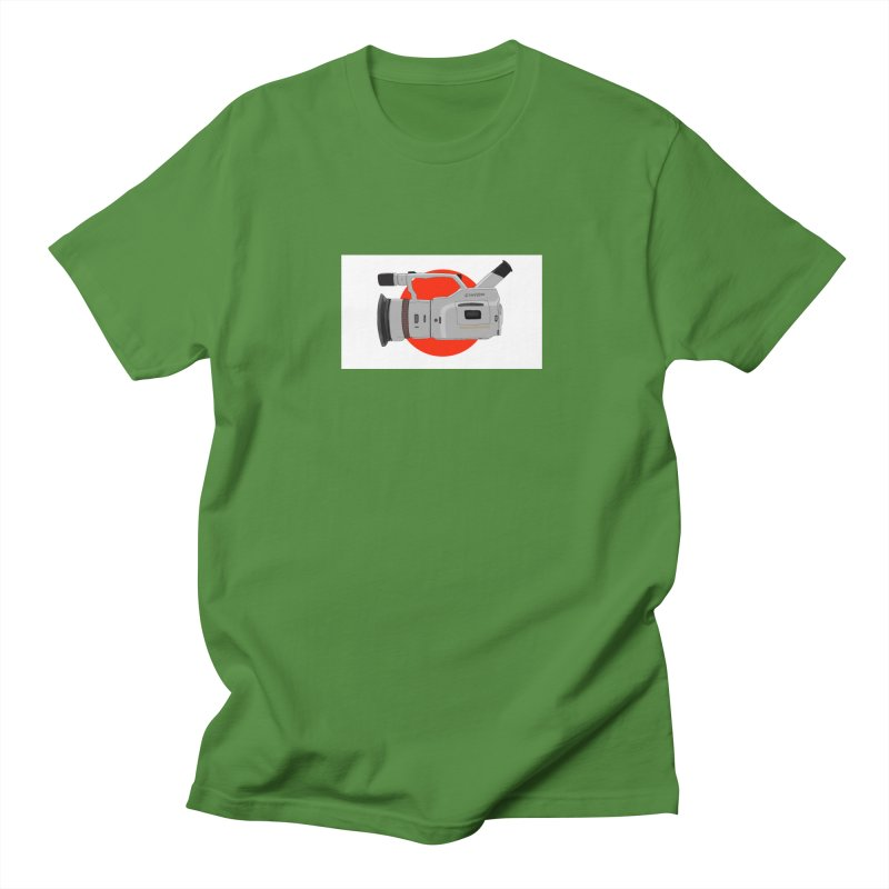 Japanese Flag Hand Drawn  vx1000 Men's T-Shirt by Sonyvx1000's Artist Shop