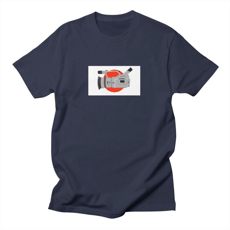 Japanese Flag Hand Drawn  vx1000 Men's Regular T-Shirt by Sonyvx1000's Artist Shop
