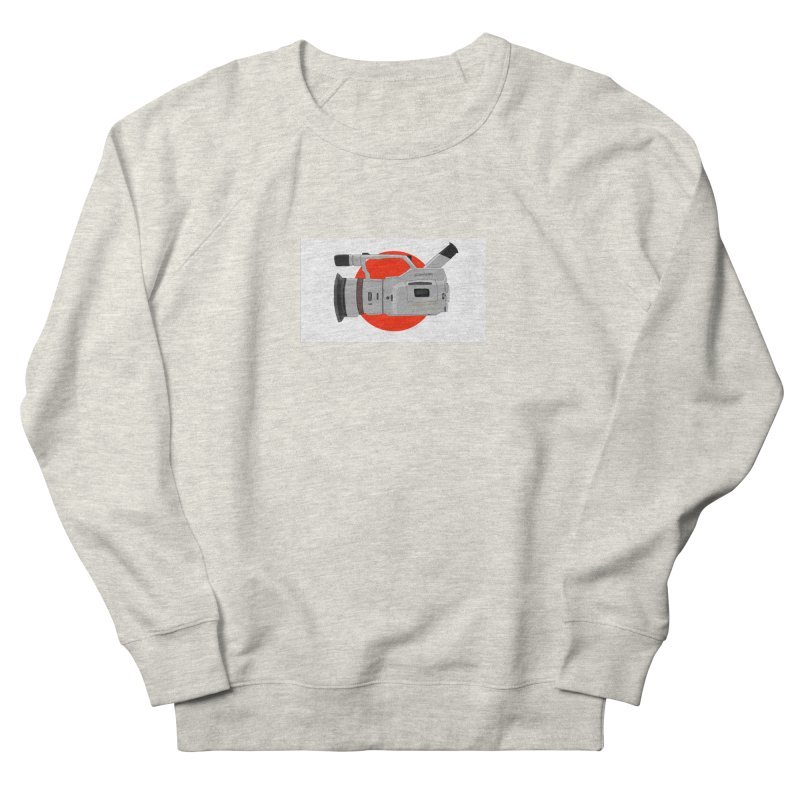 Japanese Flag Hand Drawn  vx1000 Women's French Terry Sweatshirt by Sonyvx1000's Artist Shop