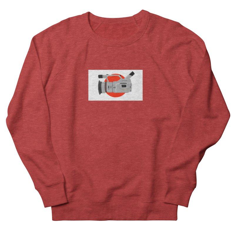 Japanese Flag Hand Drawn  vx1000 Men's French Terry Sweatshirt by Sonyvx1000's Artist Shop