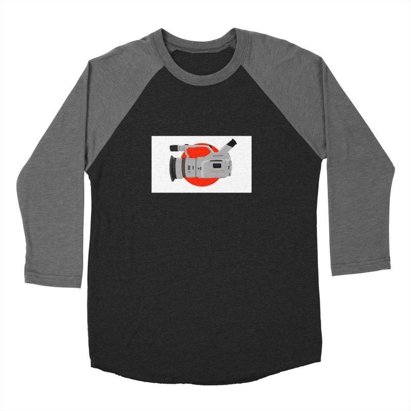 Japanese Flag Hand Drawn  vx1000 Women's Baseball Triblend T-Shirt by Sonyvx1000's Artist Shop