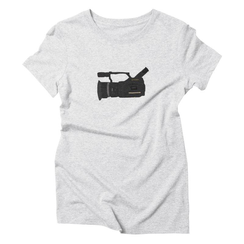 Kuro (Black) vx1000 Women's Triblend T-Shirt by Sonyvx1000's Artist Shop