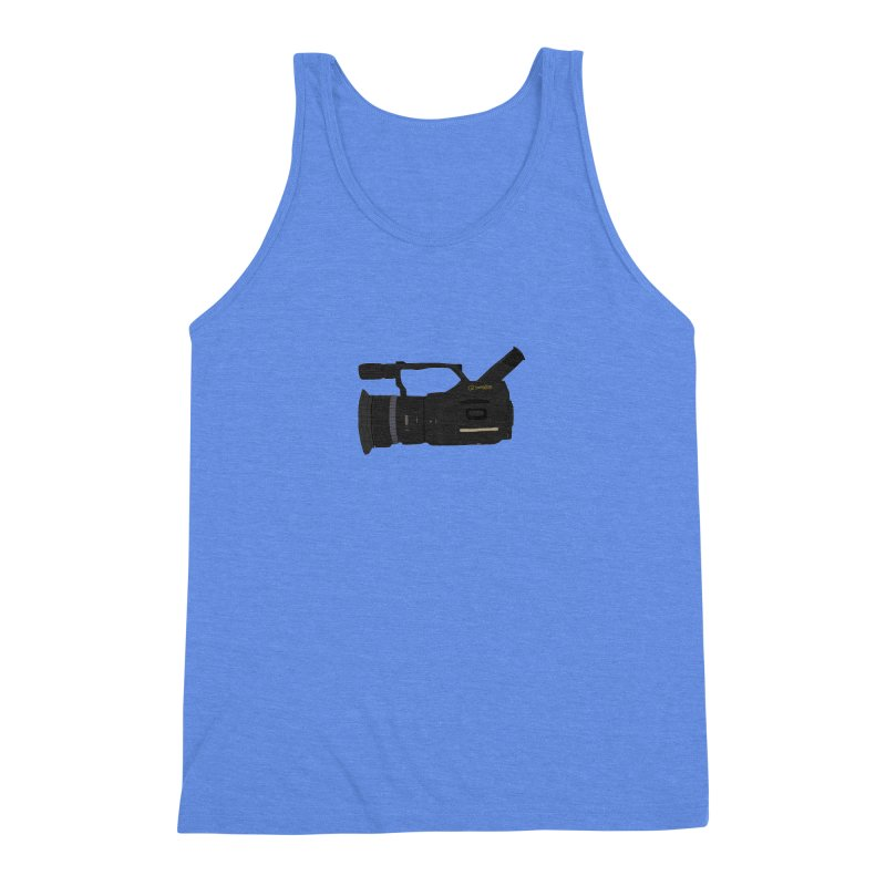 Kuro (Black) vx1000 Men's Triblend Tank by Sonyvx1000's Artist Shop