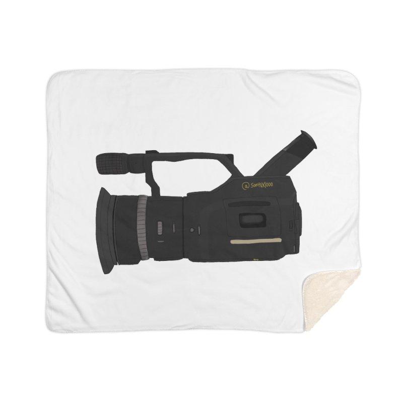 Kuro (Black) vx1000 Home Sherpa Blanket Blanket by Sonyvx1000's Artist Shop