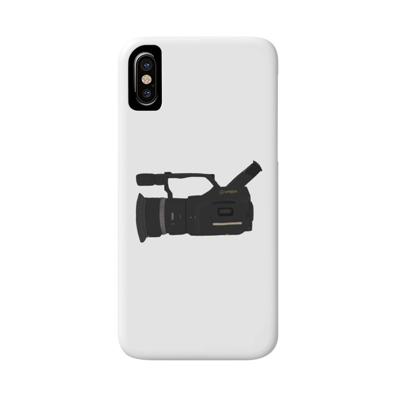Kuro (Black) vx1000 Accessories Phone Case by Sonyvx1000's Artist Shop