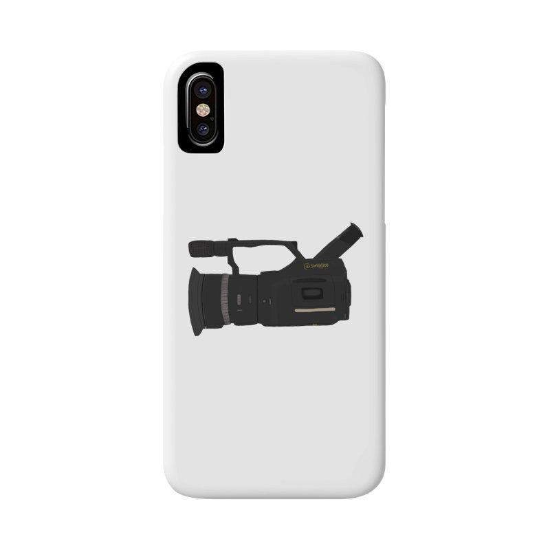 Kuro (Black) vx1000 Accessories Phone Case by Sonyvx1000's Artist Shop