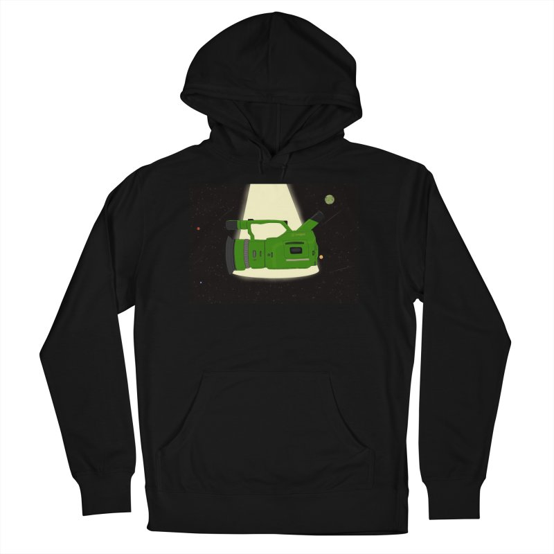 Outerspace vx1000 Men's French Terry Pullover Hoody by Sonyvx1000's Artist Shop