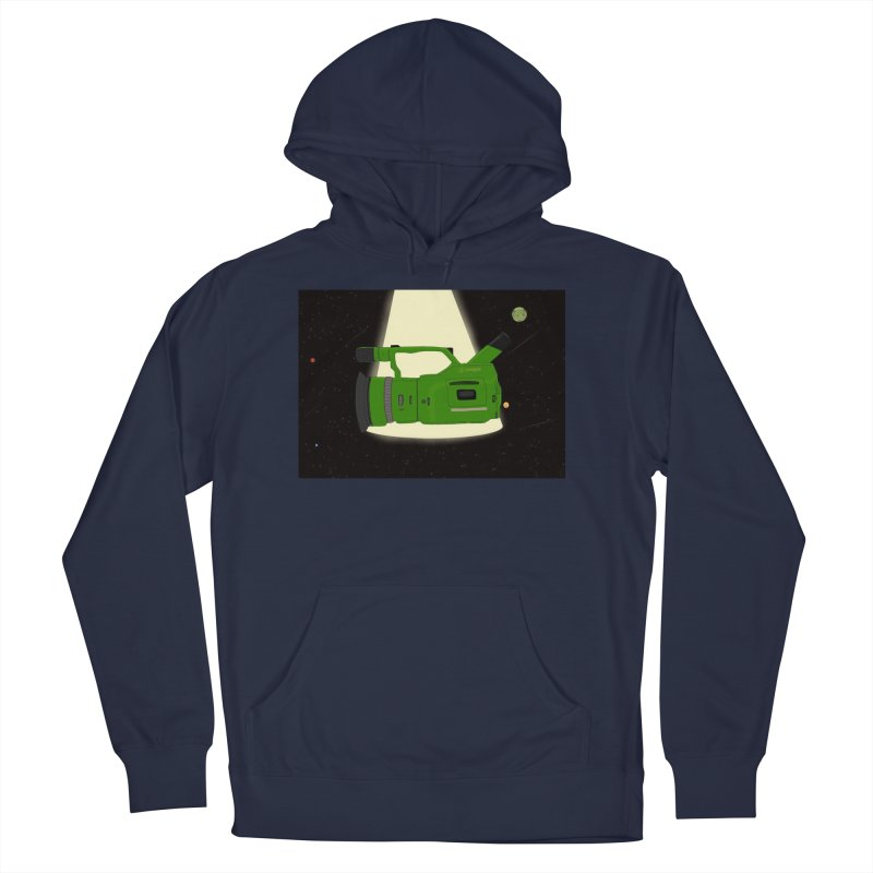 Outerspace vx1000 in Men's Pullover Hoody Navy by Sonyvx1000's Artist Shop