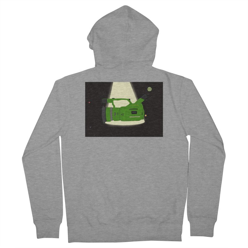Outerspace vx1000 Women's French Terry Zip-Up Hoody by Sonyvx1000's Artist Shop