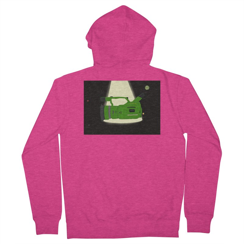 Outerspace vx1000 Women's Zip-Up Hoody by Sonyvx1000's Artist Shop