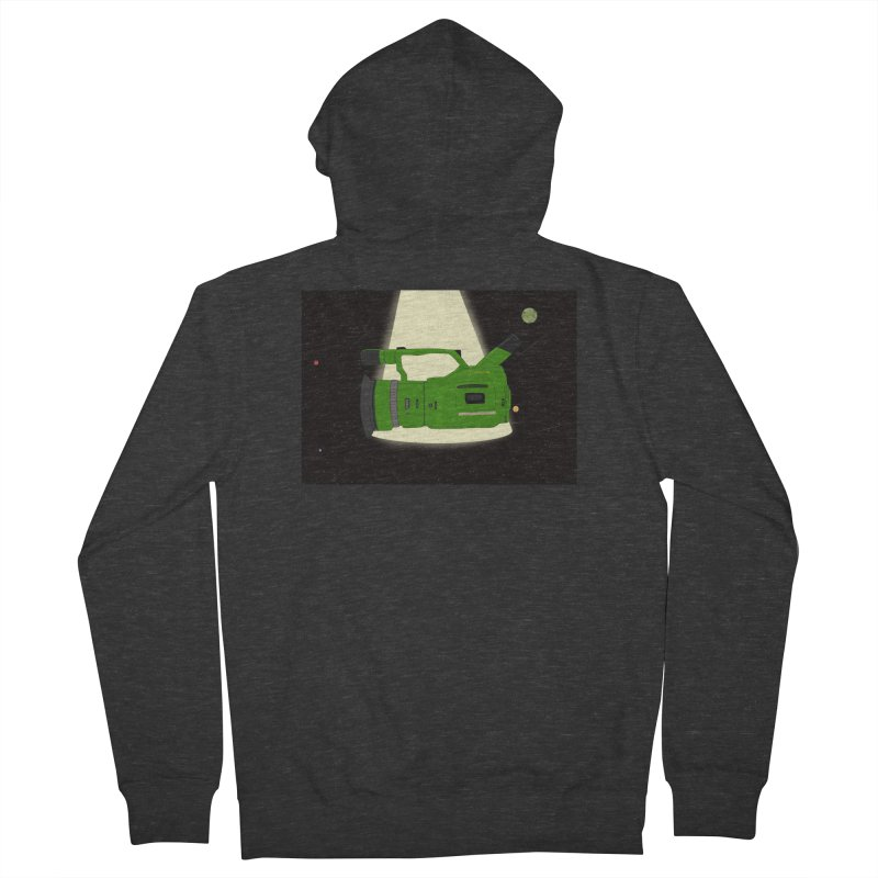 Outerspace vx1000 Men's Zip-Up Hoody by Sonyvx1000's Artist Shop