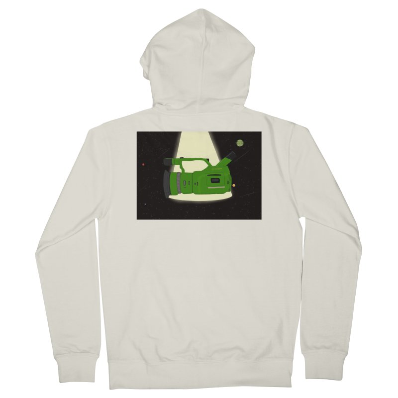 Outerspace vx1000 Men's French Terry Zip-Up Hoody by Sonyvx1000's Artist Shop