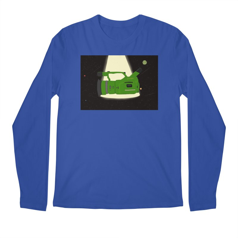 Outerspace vx1000 Men's Regular Longsleeve T-Shirt by Sonyvx1000's Artist Shop
