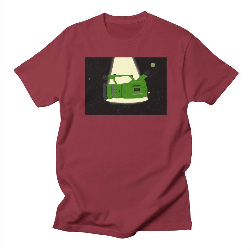 Outerspace vx1000 Men's Regular T-Shirt by Sonyvx1000's Artist Shop
