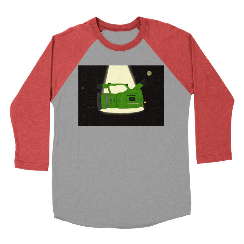 Outerspace vx1000 Women's Baseball Triblend T-Shirt by Sonyvx1000's Artist Shop