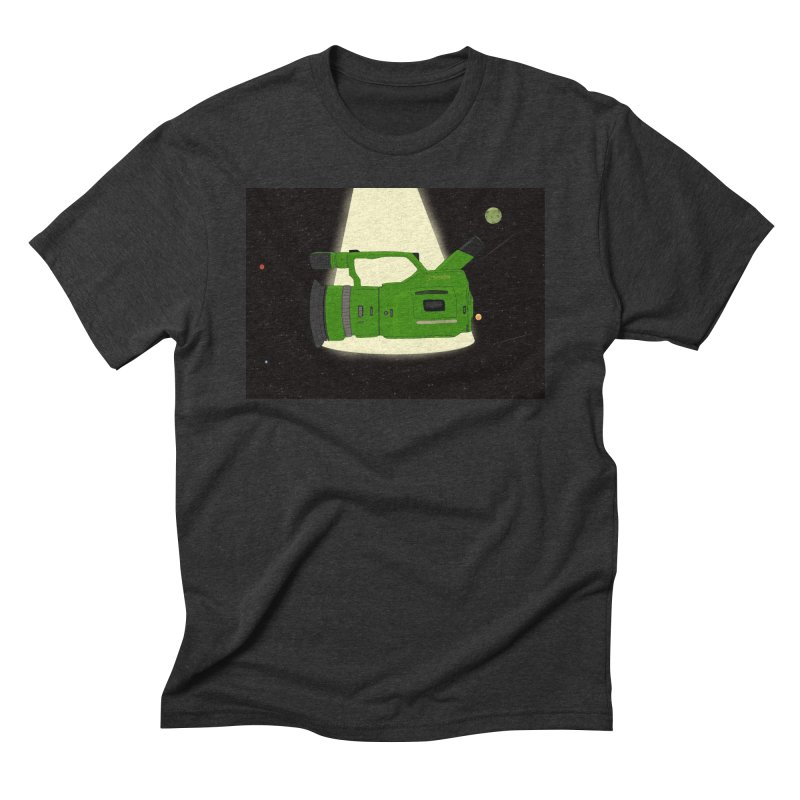 Outerspace vx1000 in Men's Triblend T-shirt Heather Onyx by Sonyvx1000's Artist Shop