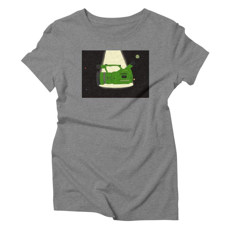 Outerspace vx1000 Women's Triblend T-Shirt by Sonyvx1000's Artist Shop