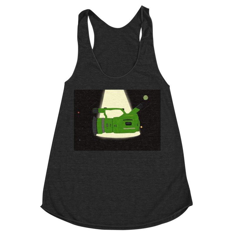 Outerspace vx1000 Women's Racerback Triblend Tank by Sonyvx1000's Artist Shop
