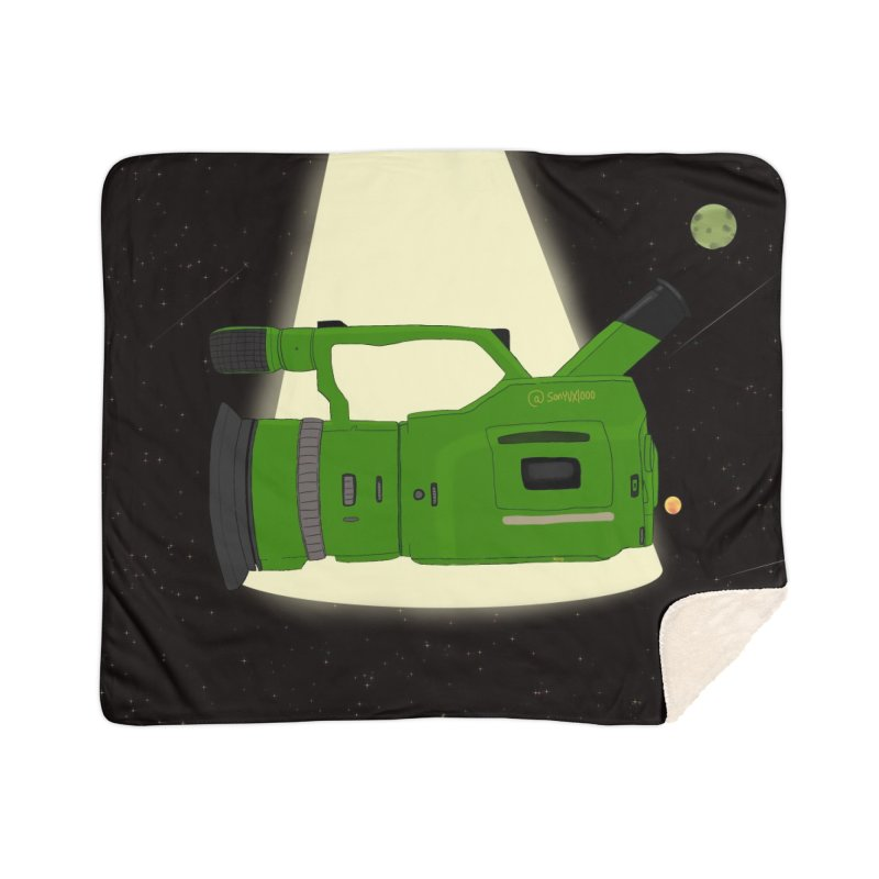 Outerspace vx1000 Home Sherpa Blanket Blanket by Sonyvx1000's Artist Shop