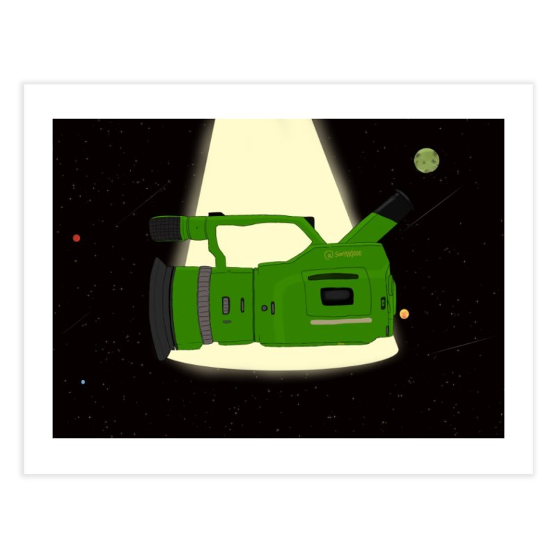 Outerspace vx1000 Home Fine Art Print by Sonyvx1000's Artist Shop