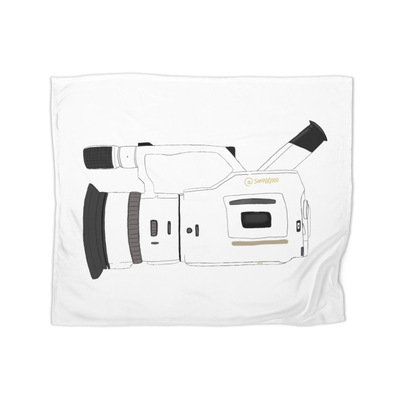 Shiro (White) vx1000 Home Blanket by Sonyvx1000's Artist Shop