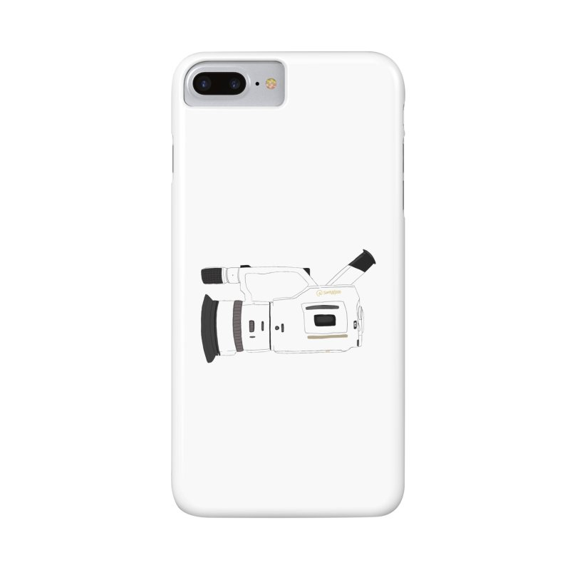 Shiro (White) vx1000 Accessories Phone Case by Sonyvx1000's Artist Shop