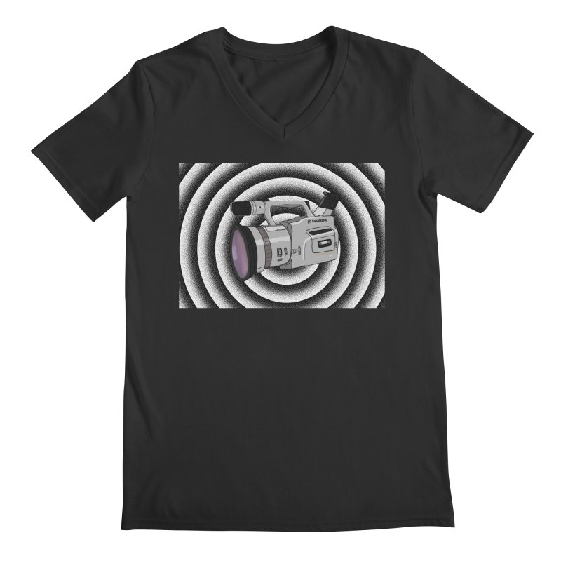Spiral Out VX Men's V-Neck by Sonyvx1000's Artist Shop