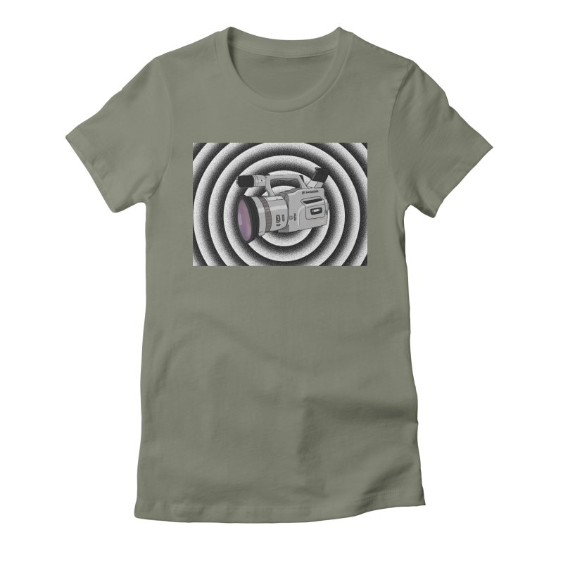 Spiral Out VX Women's Fitted T-Shirt by Sonyvx1000's Artist Shop