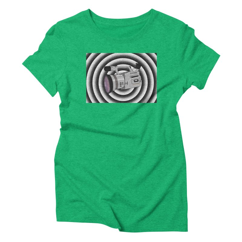 Spiral Out VX Women's Triblend T-Shirt by Sonyvx1000's Artist Shop