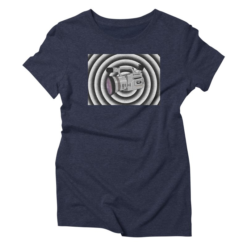 Spiral Out VX Women's Triblend T-shirt by Sonyvx1000's Artist Shop