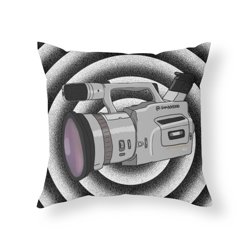 Spiral Out VX Home Throw Pillow by Sonyvx1000's Artist Shop