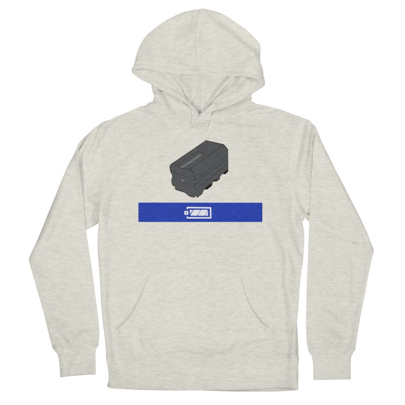 Fully Charged Women's Pullover Hoody by Sonyvx1000's Artist Shop
